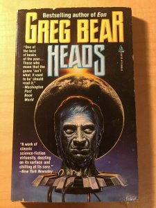 3 Books Greg Bear Heads Friday Night School Lee Child Jack Reacher MFT2