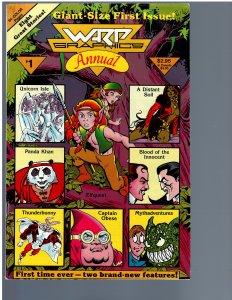 Warp Graphics Annual #1 (1986)