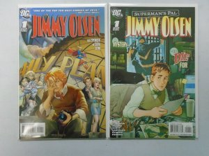 Jimmy Olsen lot 2 different issues 8.0 VF (2008+2011)