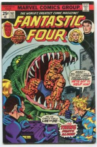 FANTASTIC FOUR #161 (6.5) BRONZE AGE MARVEL (BG01)