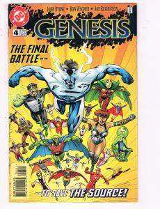 Genesis #4 VF DC Comics Comic Book John Byrne New Gods Darkseid DE21