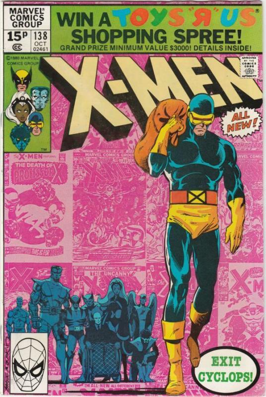 X-Men British Variant #138 (Oct-80) NM- High-Grade X-Men
