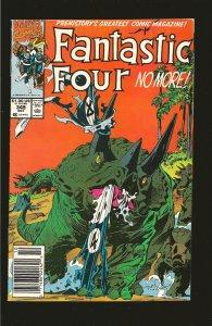 Marvel Comics Fantastic Four No More Vol 1 No 345 October 1990