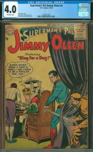 Superman's Pal Jimmy Olsen #4 CGC Graded 4.0