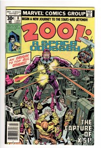 2001 A SPACE ODYSSEY #8  1st APPEARANCE AND ORIGIN MACHINE MAN