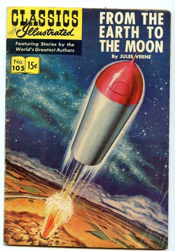 Classics Illustrated 105 (Original) Mar 1953 VG- (3.5)