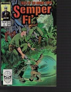 Semper Fi' #9 (Marvel, 1988)
