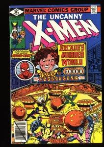 X-Men #123 VF/NM 9.0 Spider-Man Appearance! Marvel Comics