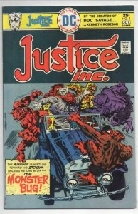 JUSTICE INC #3, VF, Jack Kirby, The Monster Bug, 1975, more in store