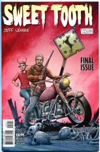 SWEET TOOTH #40, NM-, Variant, Jeff Lemire, Horror, Vertigo, 2009