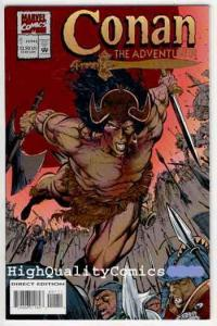 CONAN the ADVENTURER #1, NM, Robert Howard, 1994, Death, more REH in store
