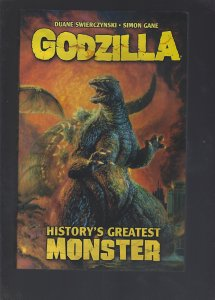 Godzilla: Histories Greatest Monster Softcover 29.99 SRP
