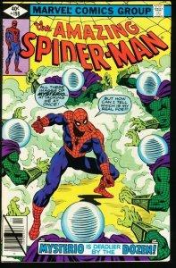 AMAZING SPIDER-MAN #198-1979-MYSTERIO-MARVEL-fine FN