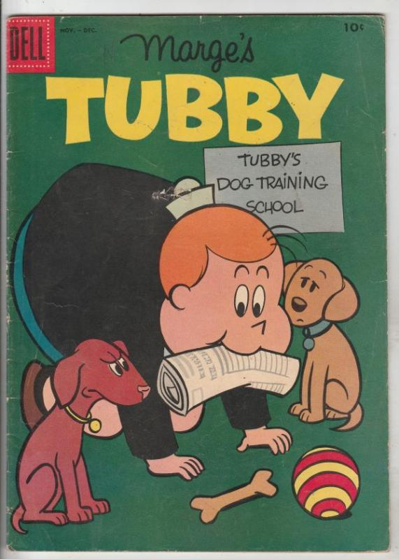 Marge's Tubby #25 (Nov-57) FN Mid-Grade Tubby