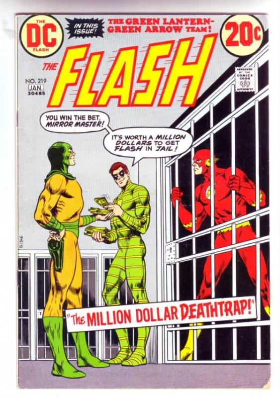 Flash, The #219 (Jan-73) VF- High-Grade Flash