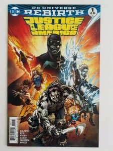 Justice League of America #1 DC Rebirth Variant 1A (DC Comics) NM