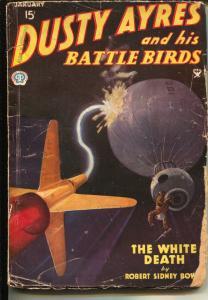 Dusty Ayres and His Battle Birds 1/1935-fantasy air war pulp hero-VG-