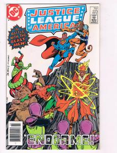 Justice League Of America #223 FN DC Comics Comic Book Superman 1984 DE29