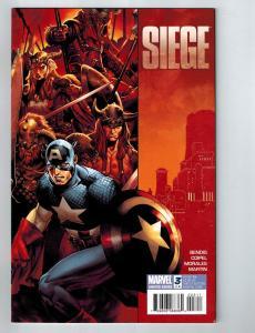 Siege # 3 Marvel Comic Books Captain America Avengers Sentury Spider-Man!!!! S54