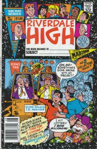 Riverdale High #1 (Newsstand) VG; Archie   low grade comic - save on shipping -