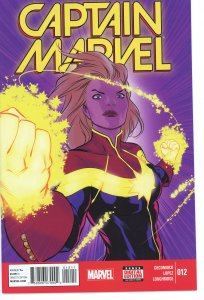Captain Marvel 12  (2014 series)  9.0 (our highest grade)