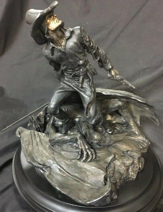 Solomon Kane Cold Cast Bronze Statue Bowen Designs 456/550 Mint