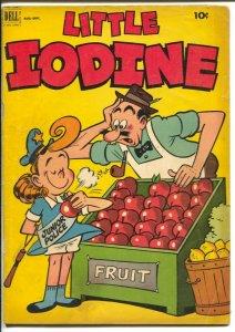 Little Iodine #13 1952-Dell-Jimmy Hatlo humor art-VG
