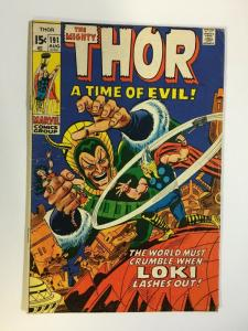 THOR 191 VG+ July 1971 Loki COMICS BOOK
