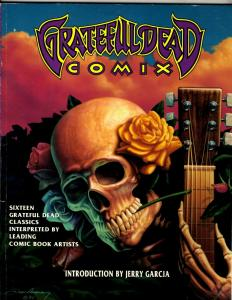 Grateful Dead Comix TPB Graphic Novel Comic Book Jerry Garcia J342