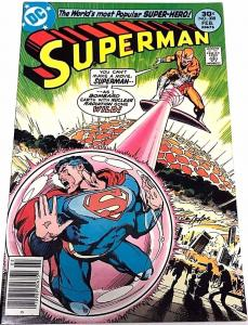 SUPERMAN#308 VF 1977 NEAL ADAMS COVER DC BRONZE AGE COMICS