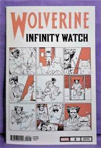 Gerry Duggan WOLVERINE INFINITY WATCH #2 Nao Fuji Variant Cat Cvr (Marvel, 2019)