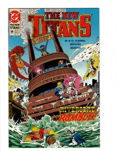 The New Titans #69 (1990) SR8