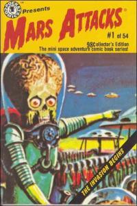 Mars Attacks! (Mini-Comics) #1 FN; Pocket | save on shipping - details inside