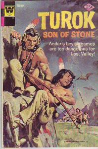 Turok Son of Stone #93 (Jan-74) VG Affordable-Grade Turok, Andar