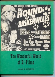 Wonderful World Of B-Films #1 1968-1st issue-Sherlock Holmes-movie ad repros-FN