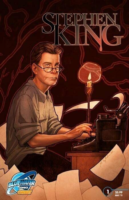 Blue Water Comic - Stephen King NEAR MINT.