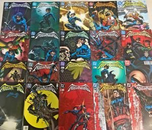 NIGHTWING#1-153 VF/NM LOT 1996 COMPLETE RUN PLUS EXTRAS DC COMICS