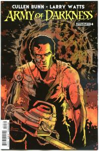 ARMY OF DARKNESS V4 #4 C, NM-, 2014, Horror, Ash, Bruce Campbell, more in store