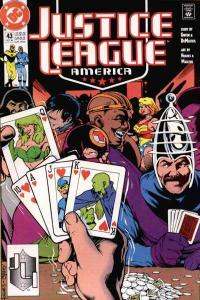 Justice League (1987 series) #43, VF- (Stock photo)