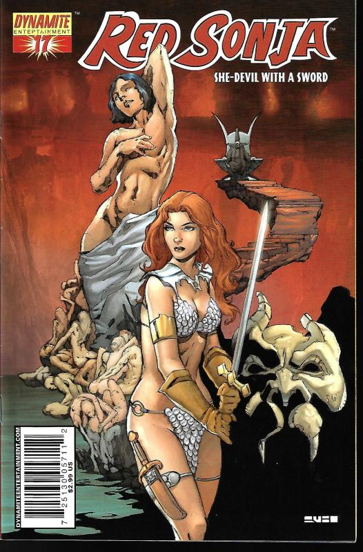 Red Sonja #17 (Dynamite Entertainment)- Mel Rubi Cover