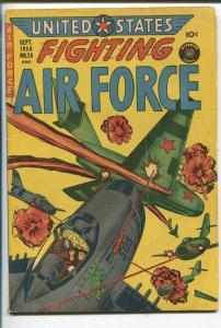 UNITED STATES FIGHTING AIR FORCE #28 1956-SUPERIOR-CANADA-KOREA-fn minus