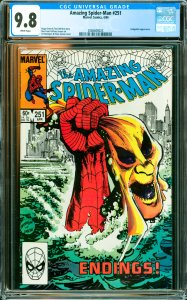 Amazing Spider-Man #251 CGC Graded 9.8 Hobgoblin appearance.