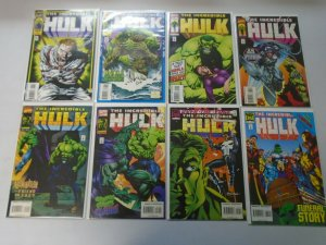 Incredible Hulk lot 43 different from #401-448 avg 8.0 VF (1993-96 1st Series)