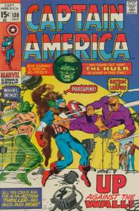 Captain America (1st Series) #130 VG; Marvel | low grade comic - save on shippin
