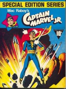 Special Edition Series #3 1975-Capt marvel Jr-Master Comics reprints-FN/VF
