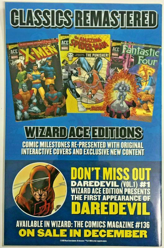 AMAZING SPIDER-MAN#1 VF/NM 2003 WIZARD ACE EDITION MARVEL COMICS