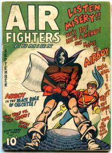 Air Fighters Comics #12 1943-WILD COVER-SKY WOLF-AIRBOY incomplete