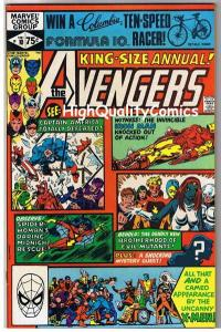 AVENGERS 10 King-Size, VF/NM, Thor, 1st Rogue, Iron Man, X-men, more in store