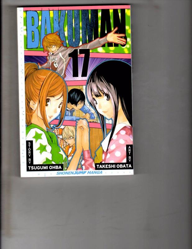 Bakuman Vol 17 TPB Manga Anime Death Note Bleach Naruto Dragonball WR1