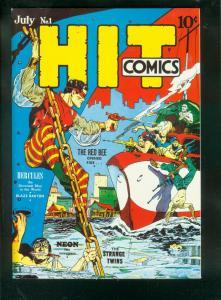 FLASHBACK #31 HIT COMICS #1 REPRINT-RED BEE-HERCULES- VF